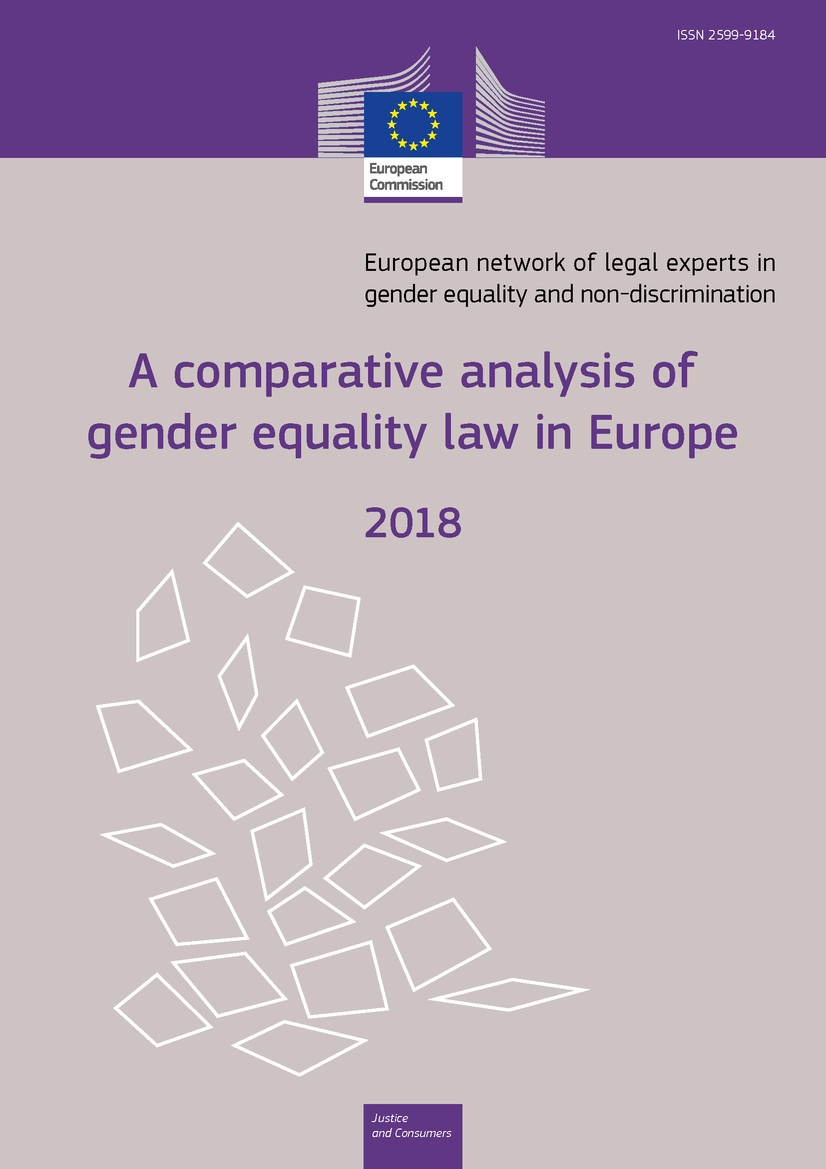 Cover image of A comparative analysis of gender equality law in Europe 2018