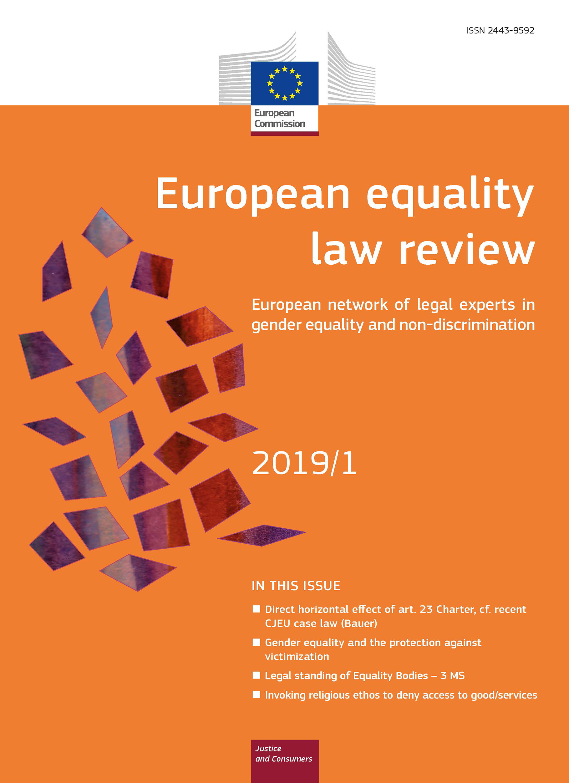 Cover image of European equality law review
