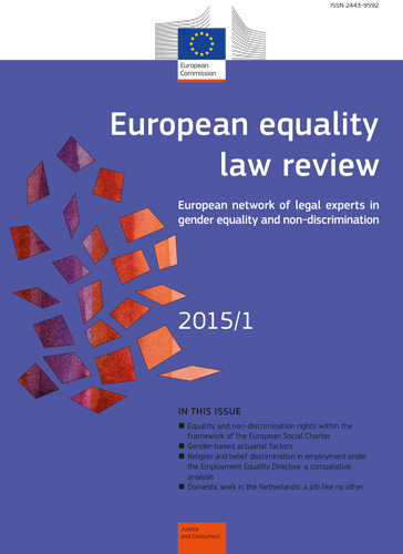 European equality law review 2015-1