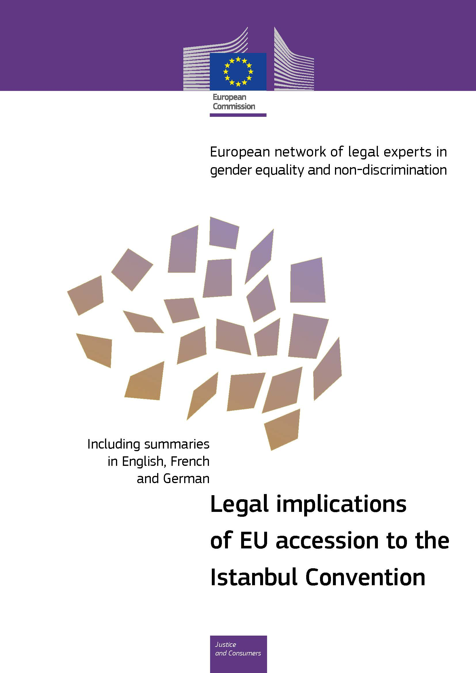 Cover image of Legal implications of EU accession to the Istanbul Convention