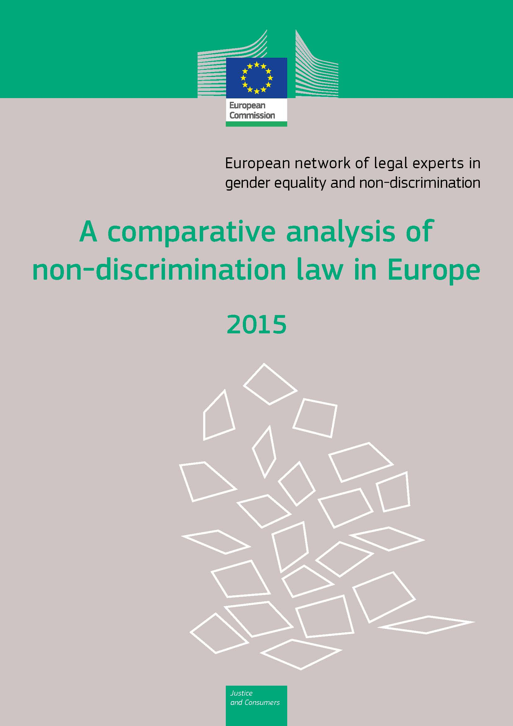 Cover image of A comparative analysis of non-discrimination law in Europe 2015