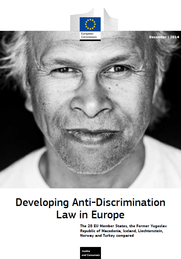 Cover image of Developing anti-discrimination law in Europe