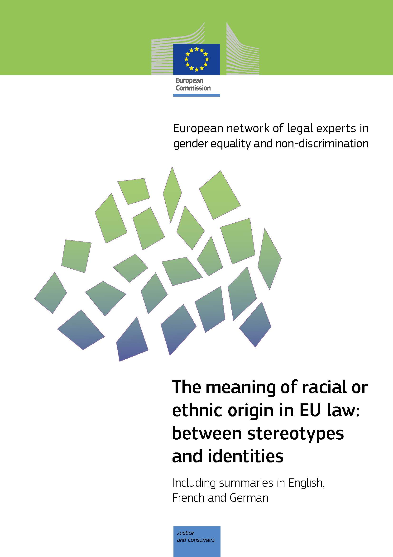 Cover image of The meaning of racial or ethnic origin in EU law: between stereotypes and identities