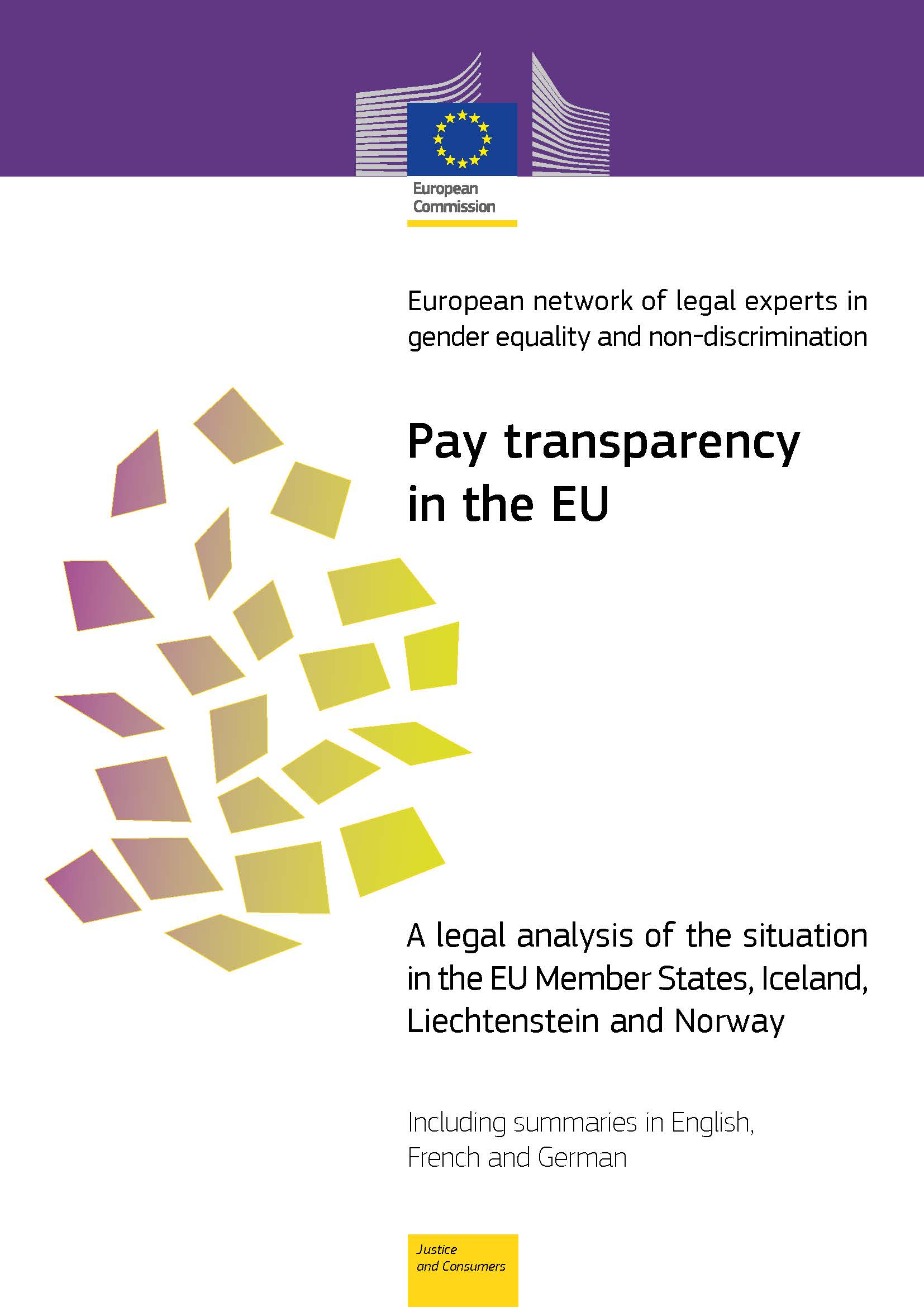 Cover image of Pay transparency in the EU